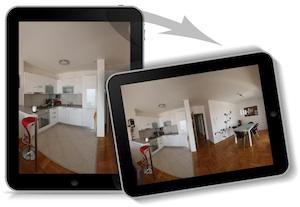 360° Player für interaktive Panoramen auf dem iPhone und iPad